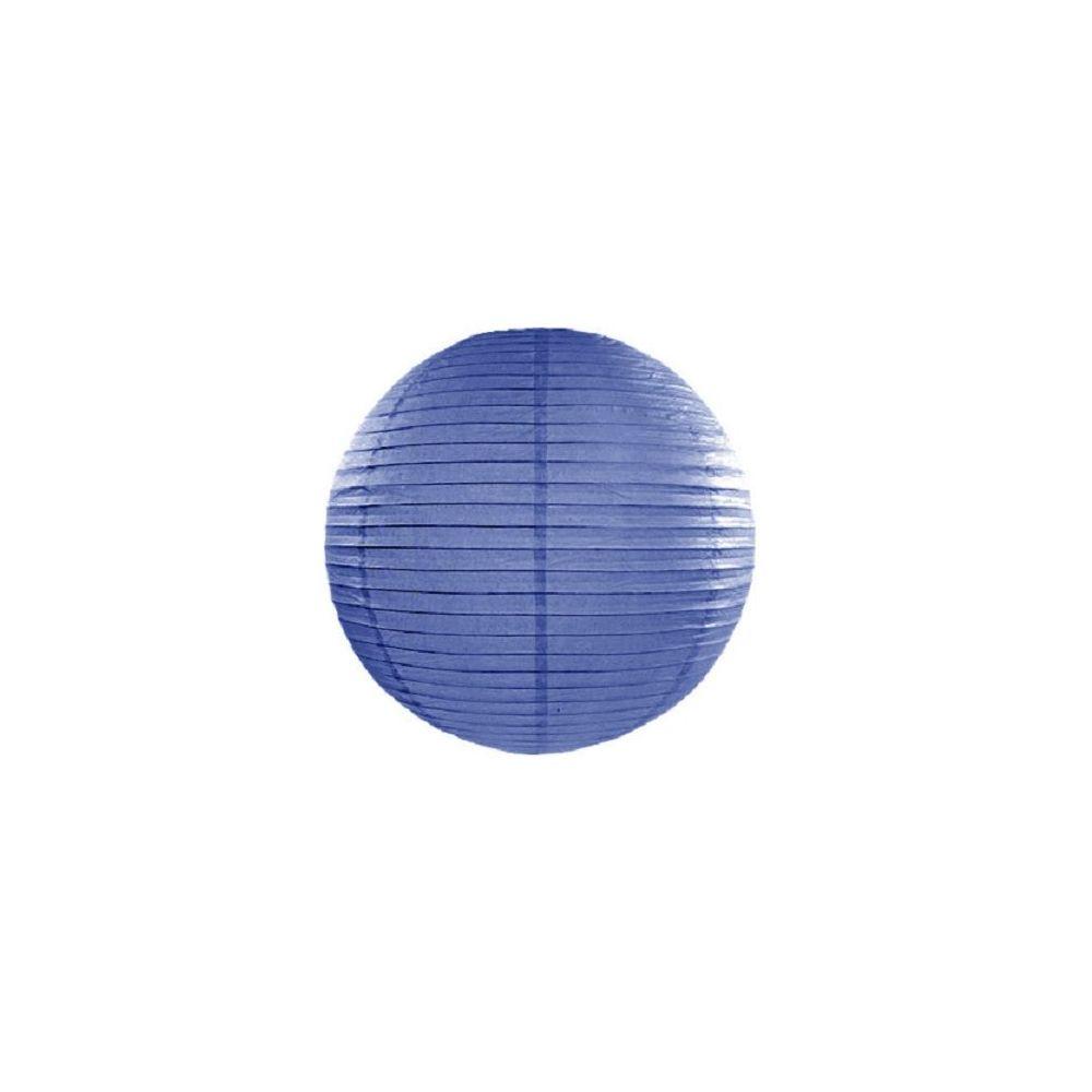 Lampion bleu foncé - 25 cm