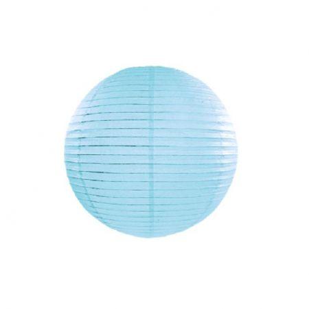 Lampion bleu ciel - 25 cm