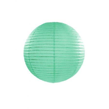 Lampion menthe- 25 cm