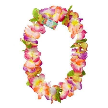 Collier de fleurs tropicales