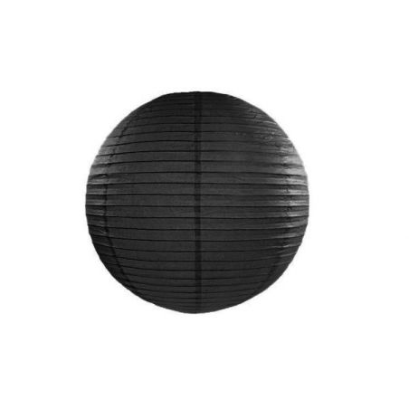 Lampion noir - 25 cm