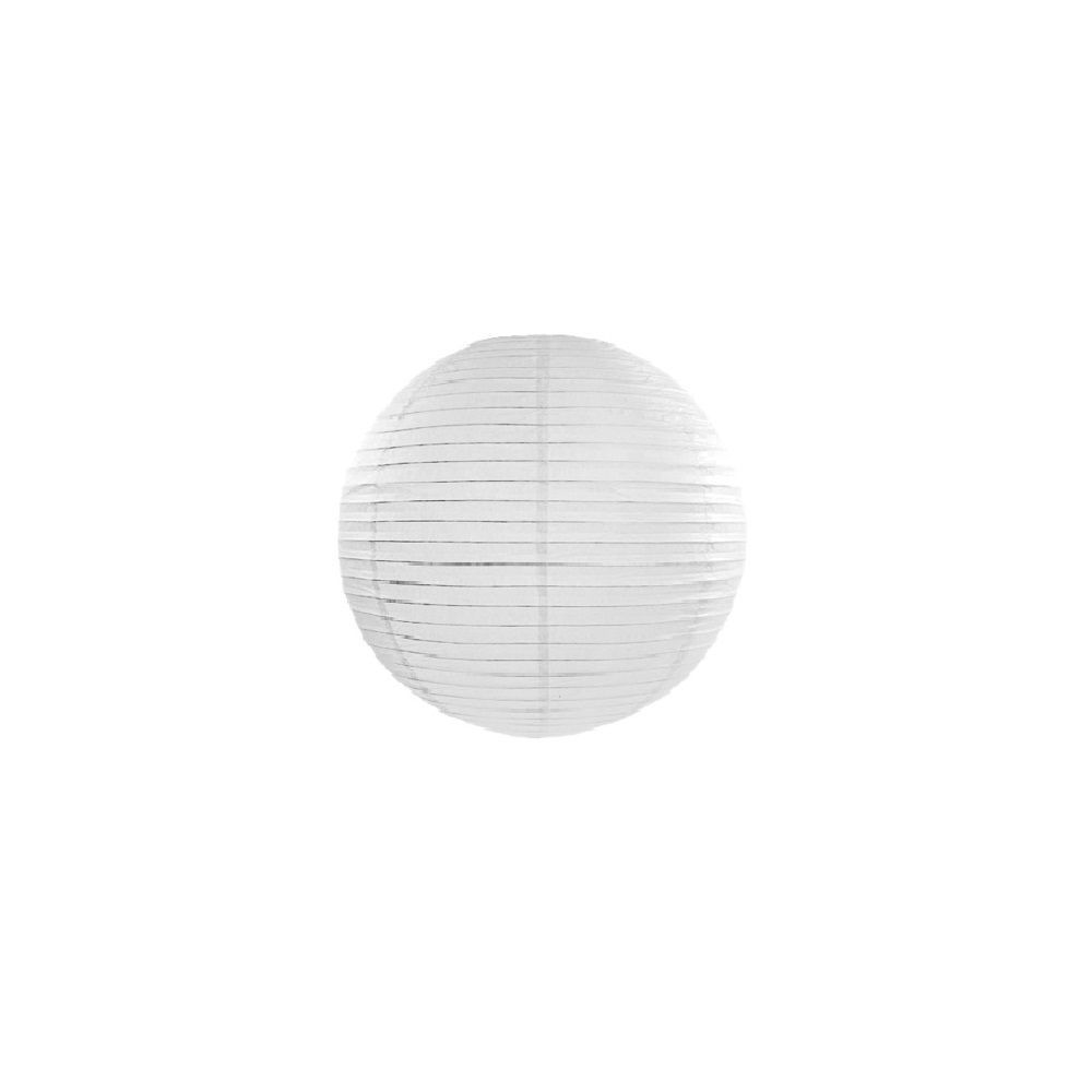 Lampion blanc  - 35 cm
