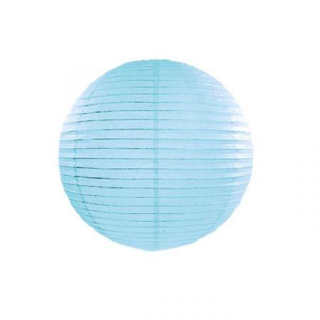 Lampion bleu ciel - 35 cm