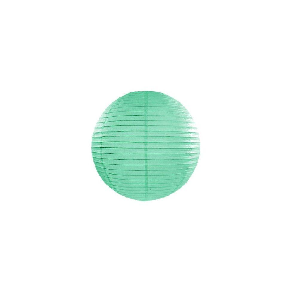 Lampion menthe - 35 cm