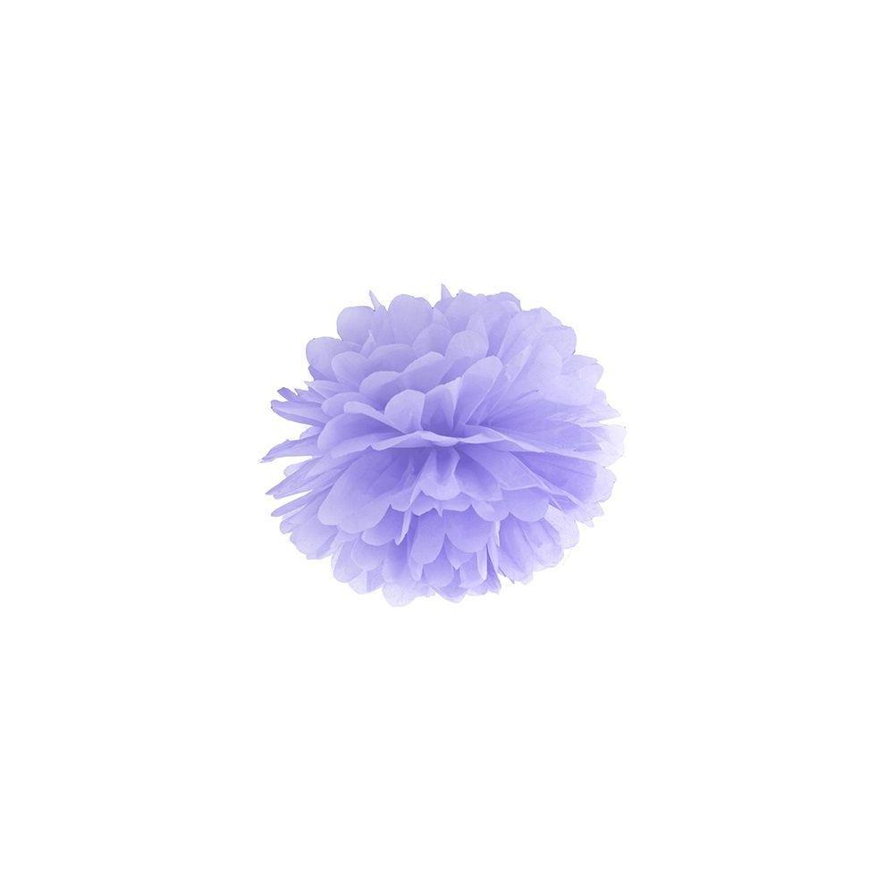 Pompon mauve - 25 cm