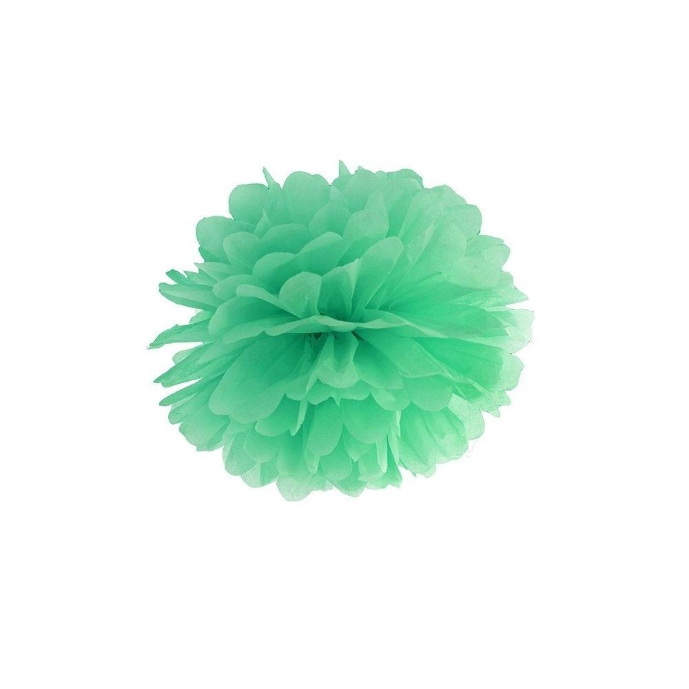 Pompon menthe - 35 cm