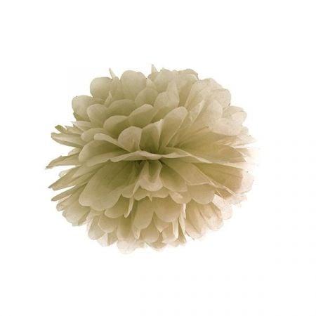 Pompon doré - 25 cm