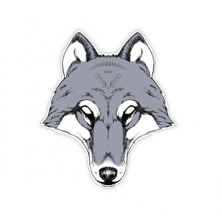 Masque adulte loup