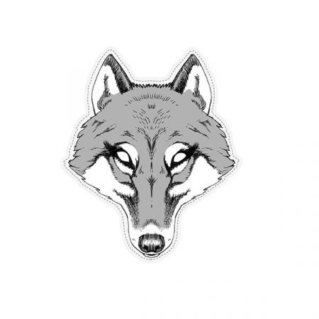 Masque adulte louve