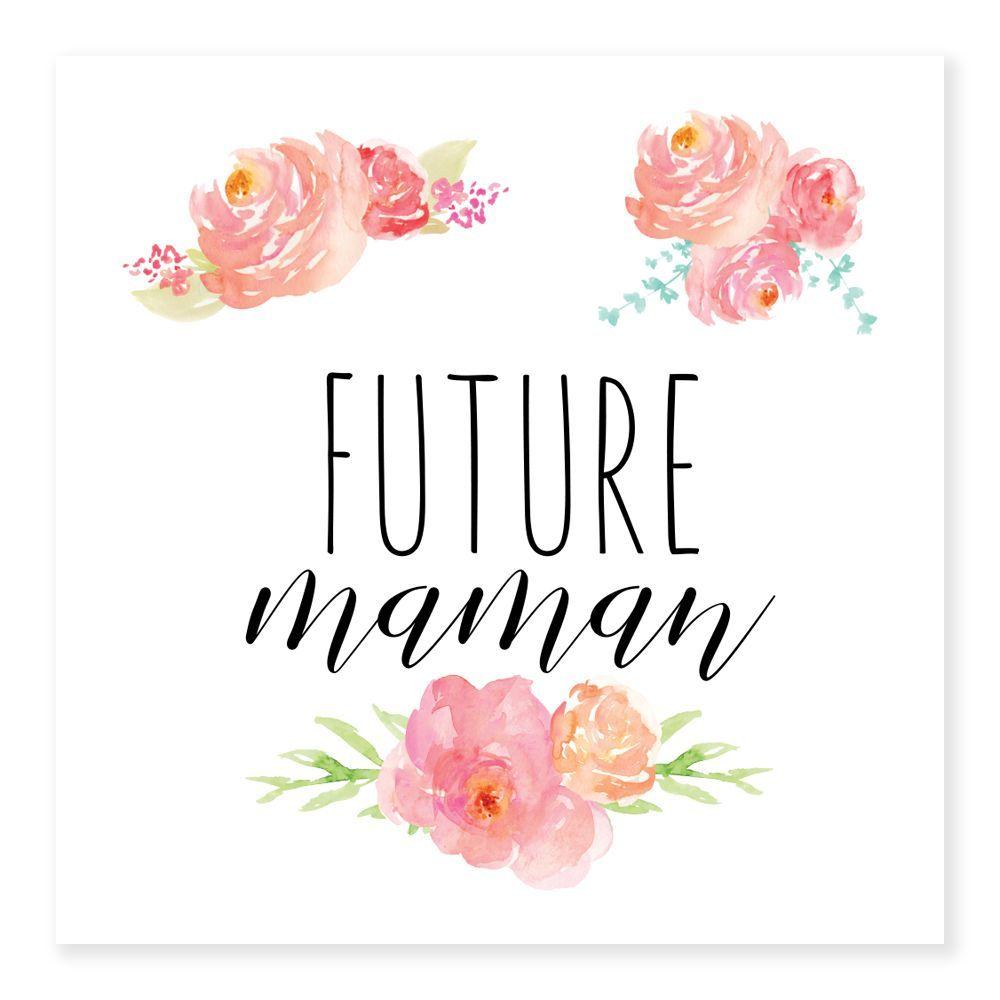 Tatouages temporaires FUTURE MAMAN