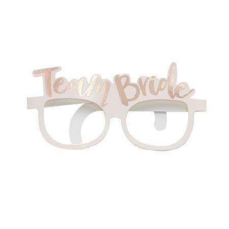 "8 lunettes ""Team bride"" EVJF"