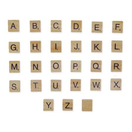 Lettre Scrabble - A l'unité