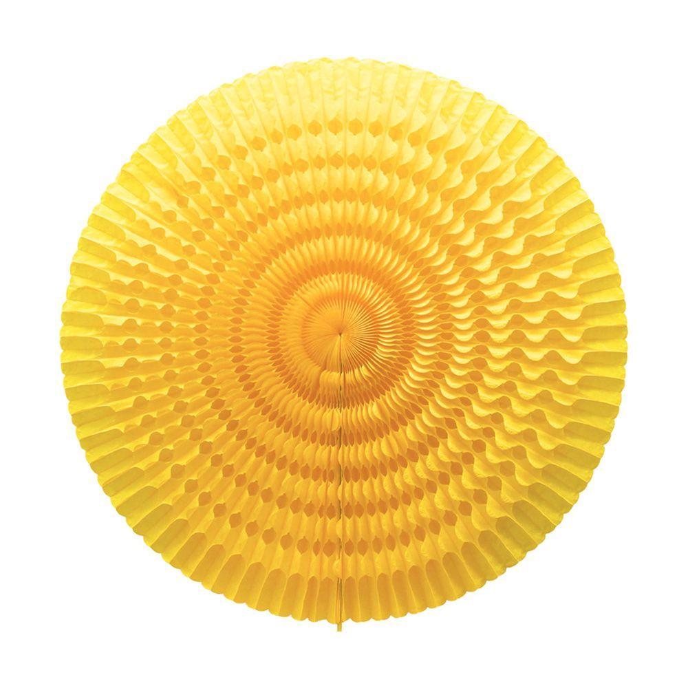 Grande rosace jaune - 50 cm