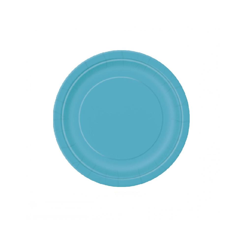 8 assiettes émeraude