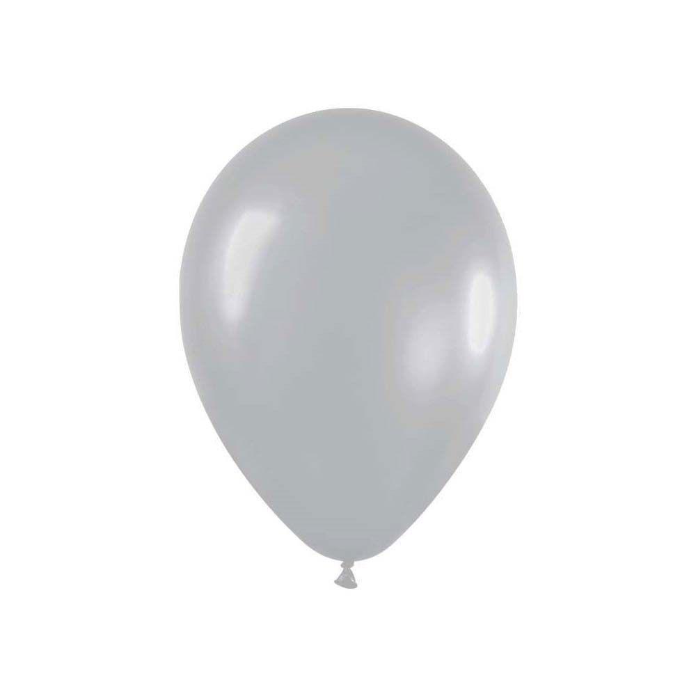 Ballon argent -  28 cm