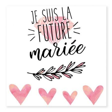 "Tatouages temporaires ""evjf - future mariée"""