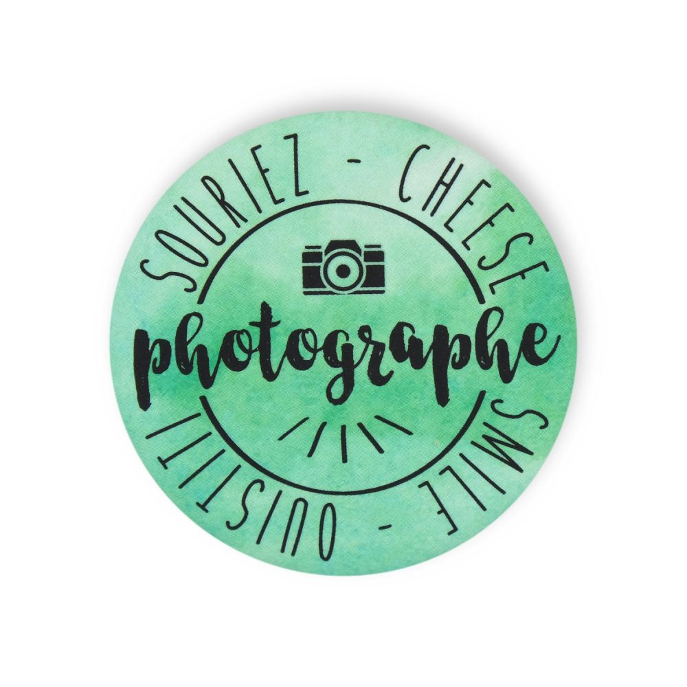 "Badge ""photographe"""