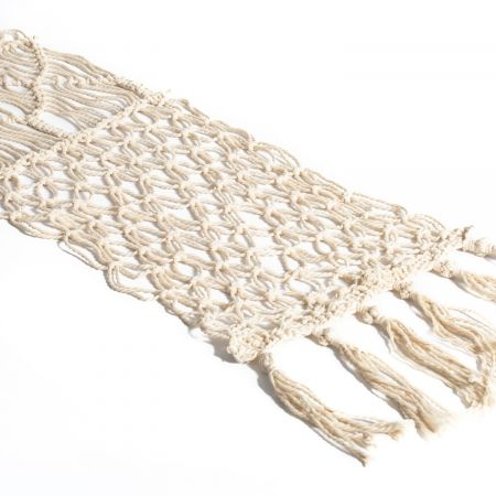 3 m chemin de table macramé - 30 cm