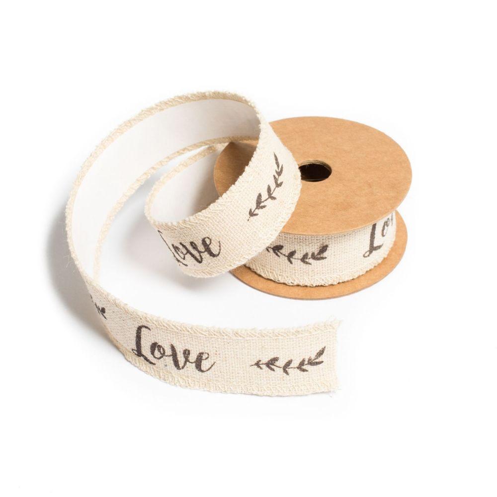 "2 m masking tape ""love"" - 2,5 cm"