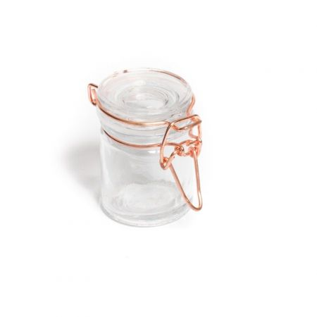Mini pot hermétique rose gold - 6 cm