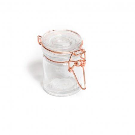 Mini pot hermétique rose gold - 6 cm