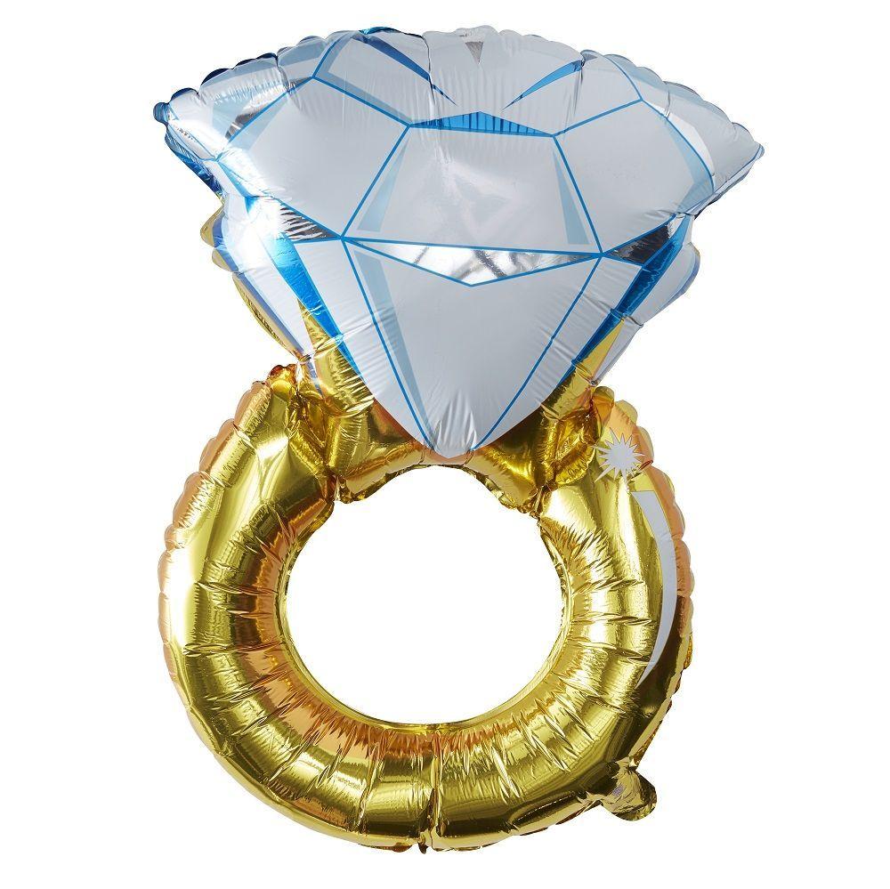 Ballon mylar bague - 86 cm