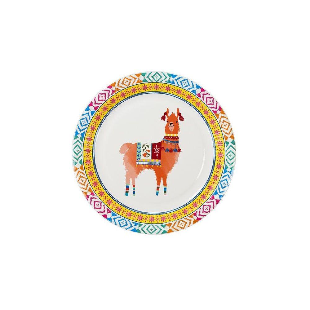 """12 assiettes """"lama"""" - 23 cm"""