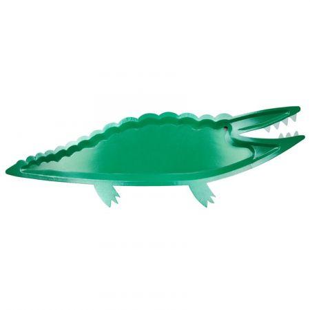 """4 plateaux """"crocodile"""" - 53.50 cm"""