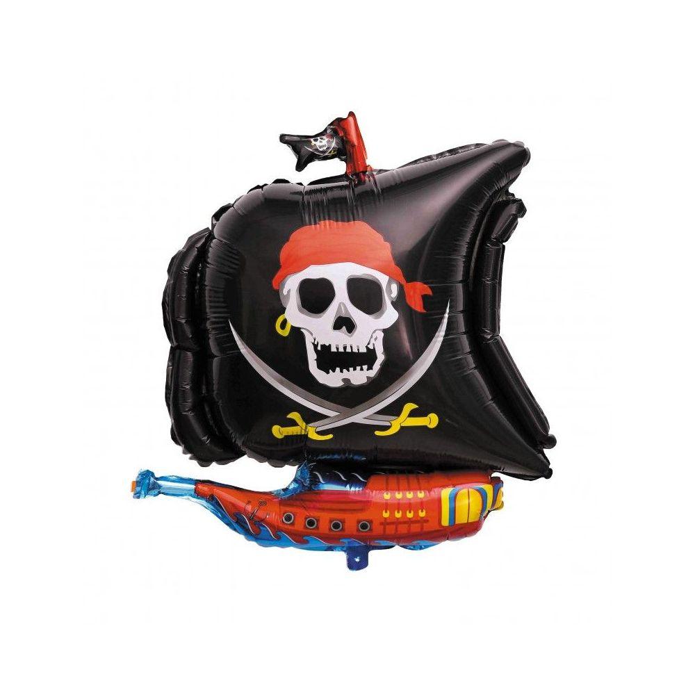 """Ballon """"Bateau pirate""""-  66 cm"""