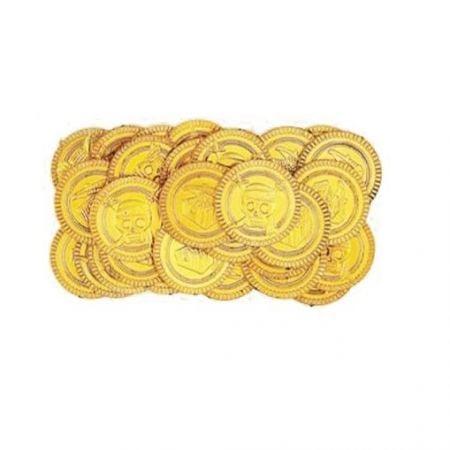 """30 pièces dorées """"Trésor de pirate"""""""