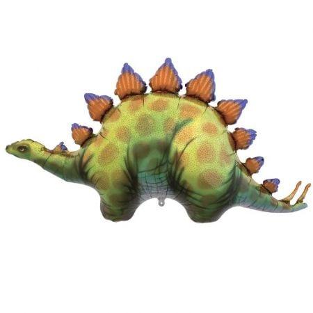 "Ballon ""Dinosaure stégosaure"" - 115 cm"