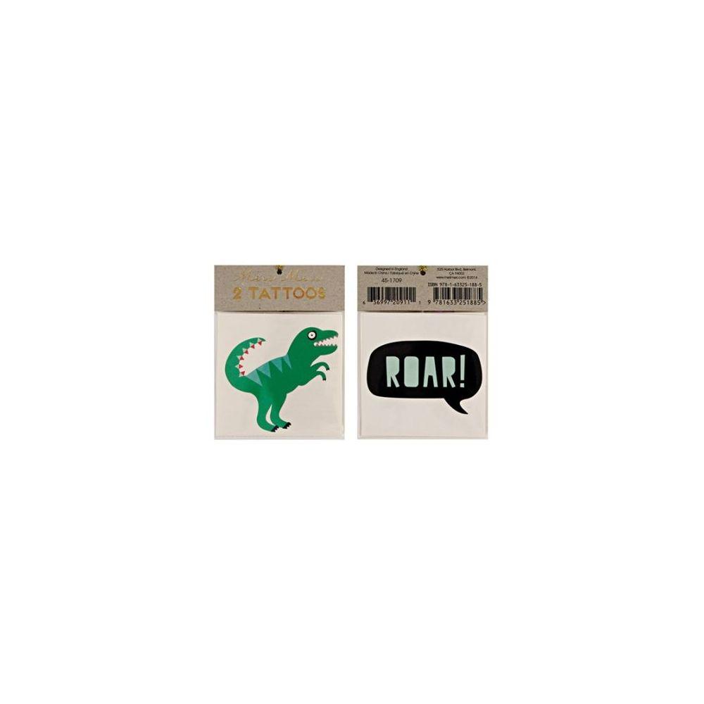 """Tatouages temporaires """"Dinosaure"""""""