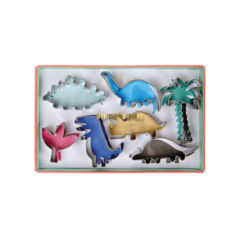 """7 emporte-pièces """"Dinosaure"""""""