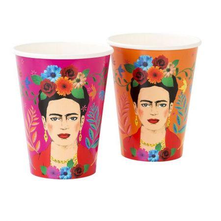 """12 grands gobelets """"Frida Kahlo"""""""