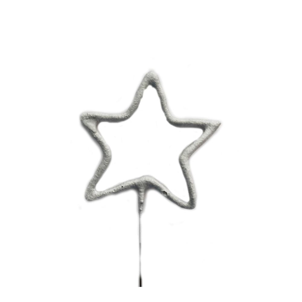 Étincelle étoile argentée