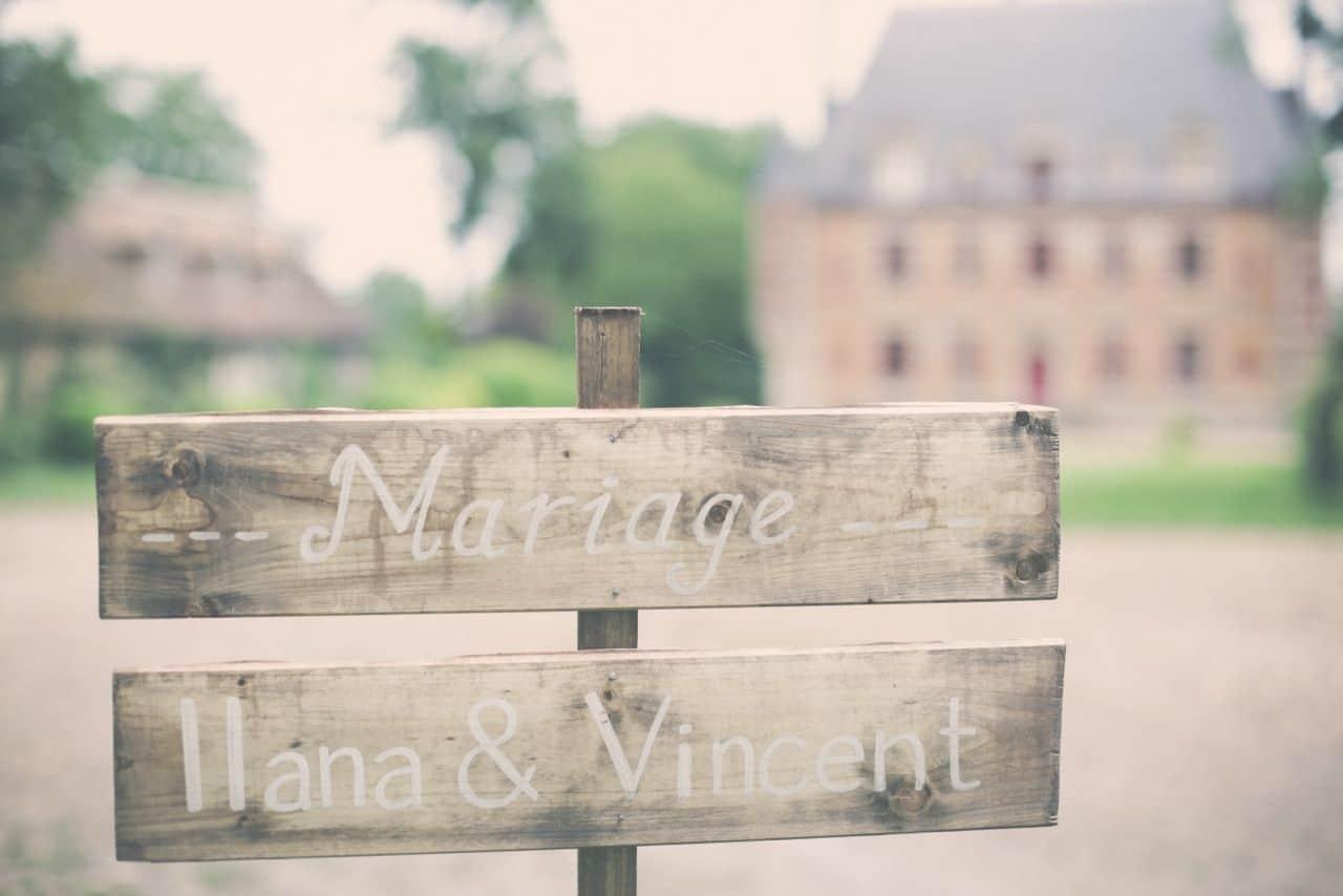 Mariage rétro chic d'Ilana et Vincent – juin 2014