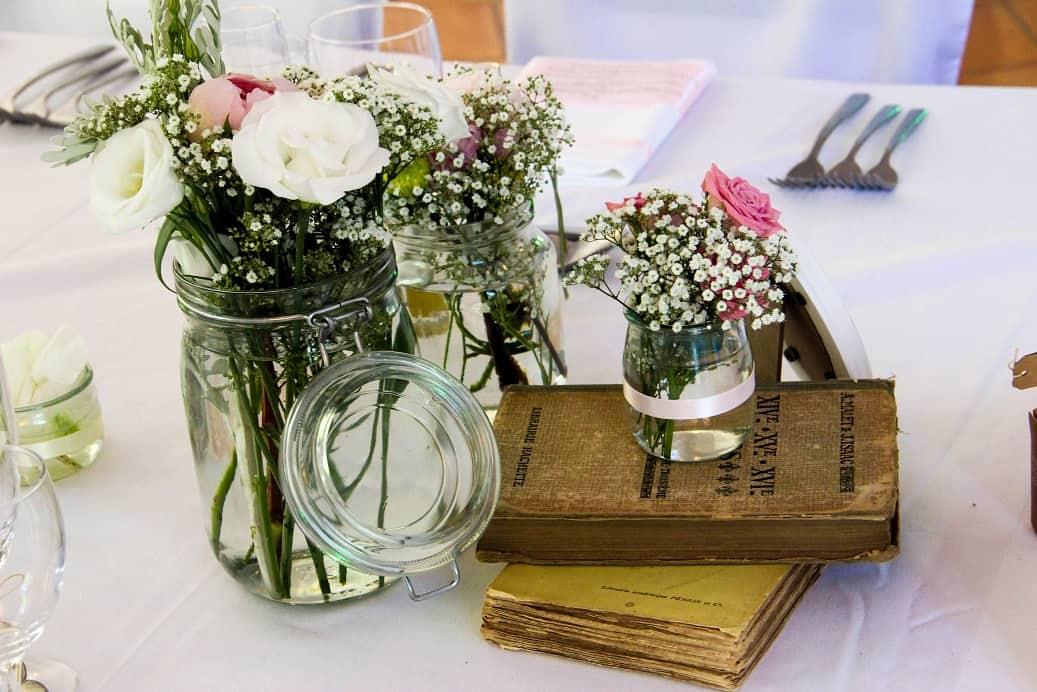Le mariage de Caroline – Déco romantique et printanière