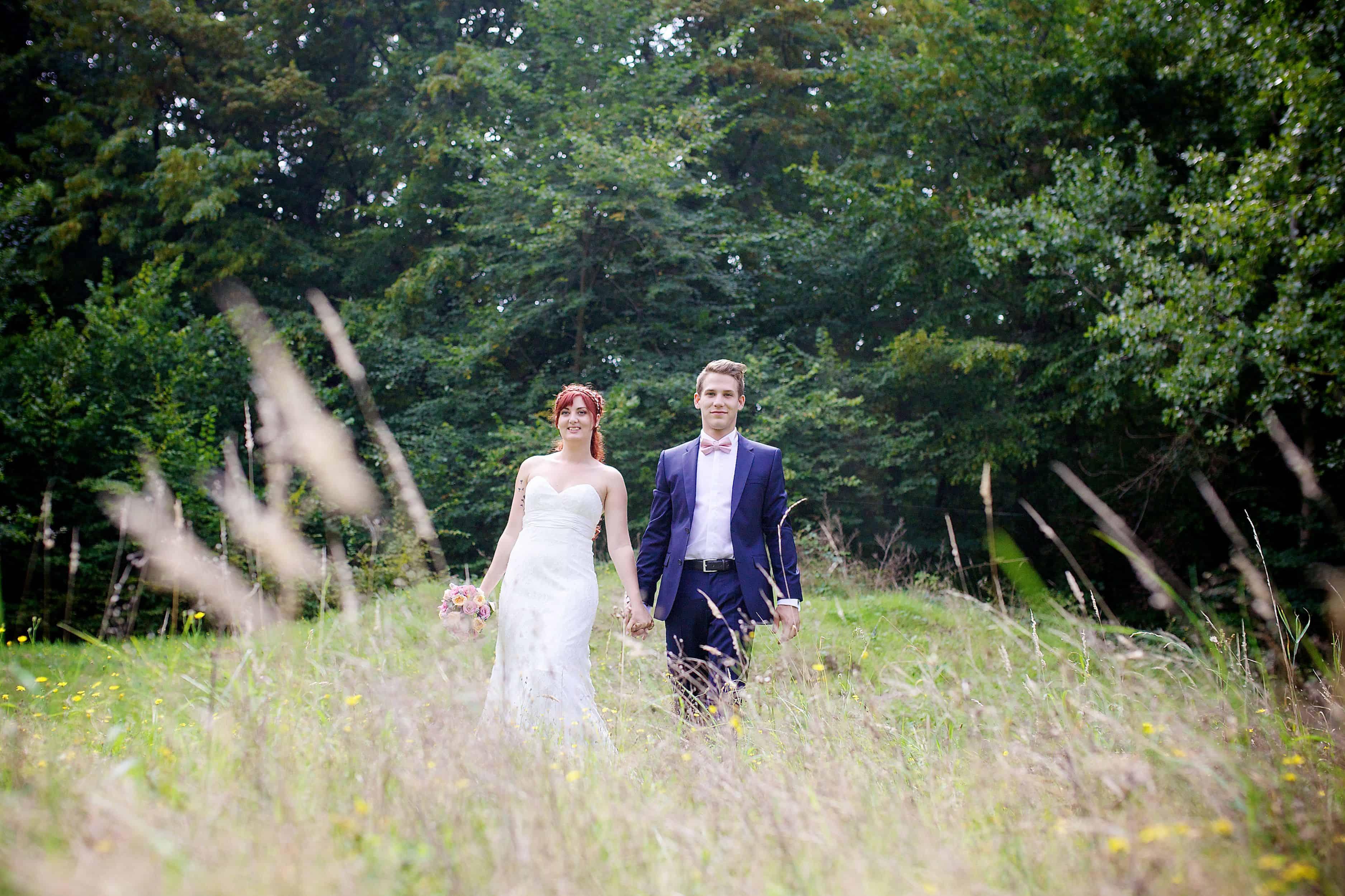 Le mariage de Mélanie et Valentin – vintage et coloré