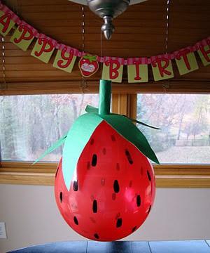 ballon fraises