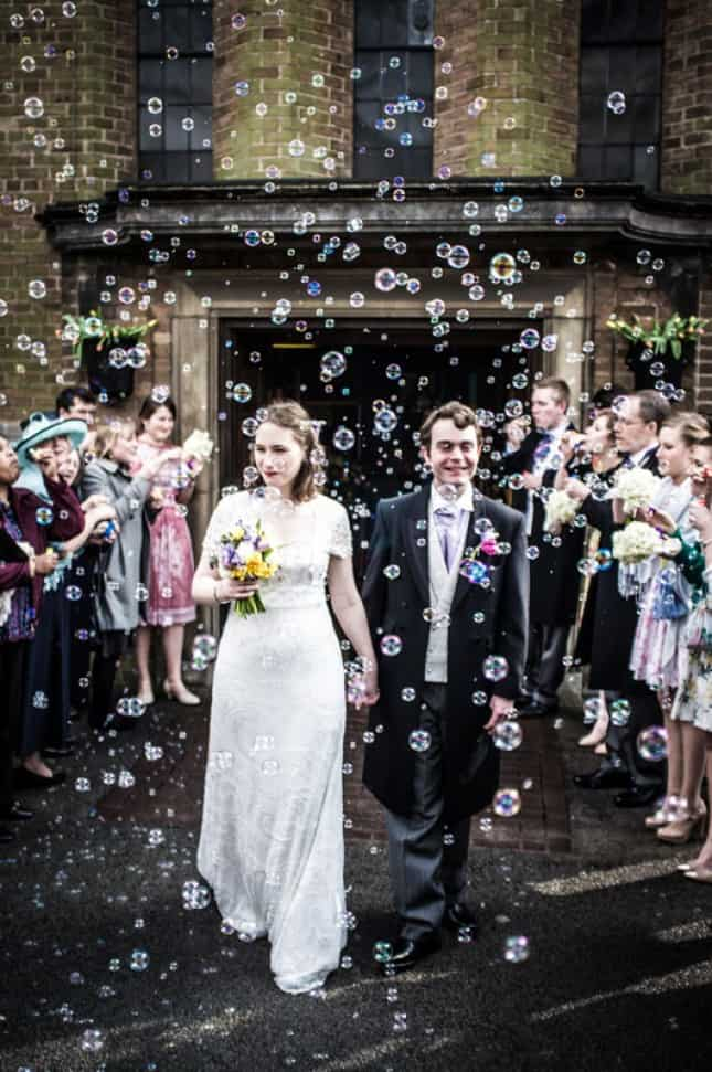 bulles mariage ceremonie