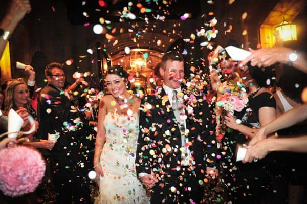 confettis mariage ceremonie