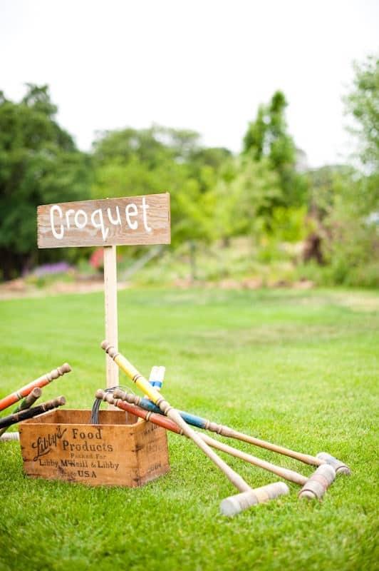 croquet mariage