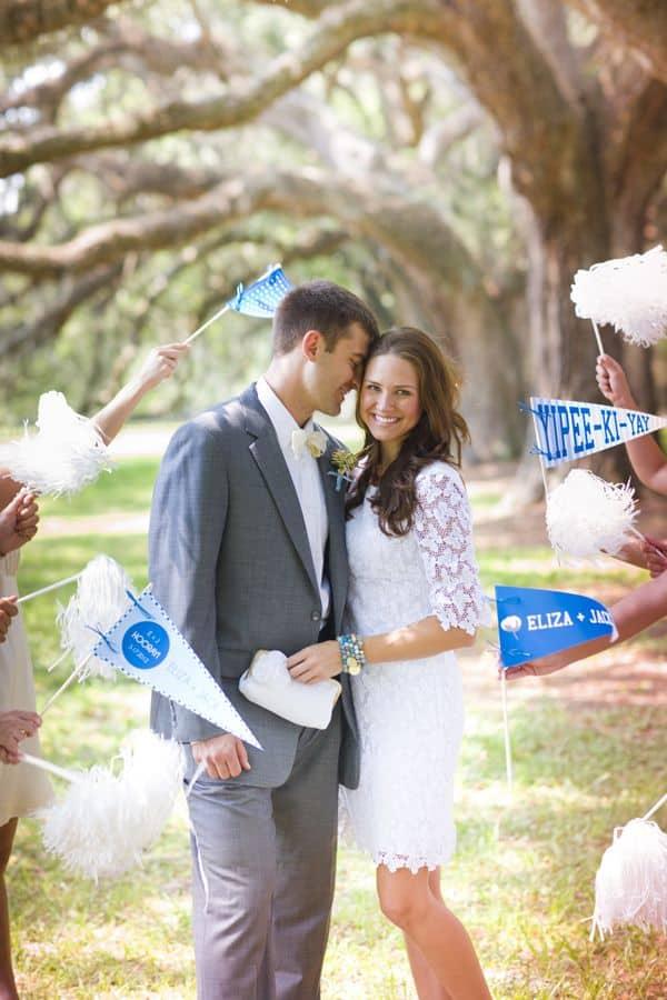 drapeaux mariage ceremonie