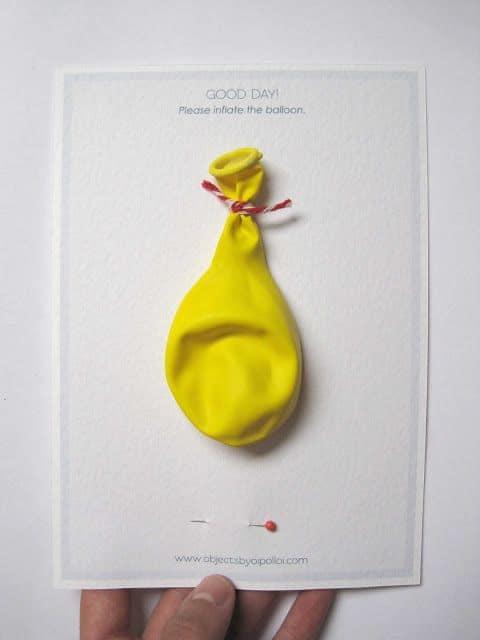 invitation ballon anniversaire