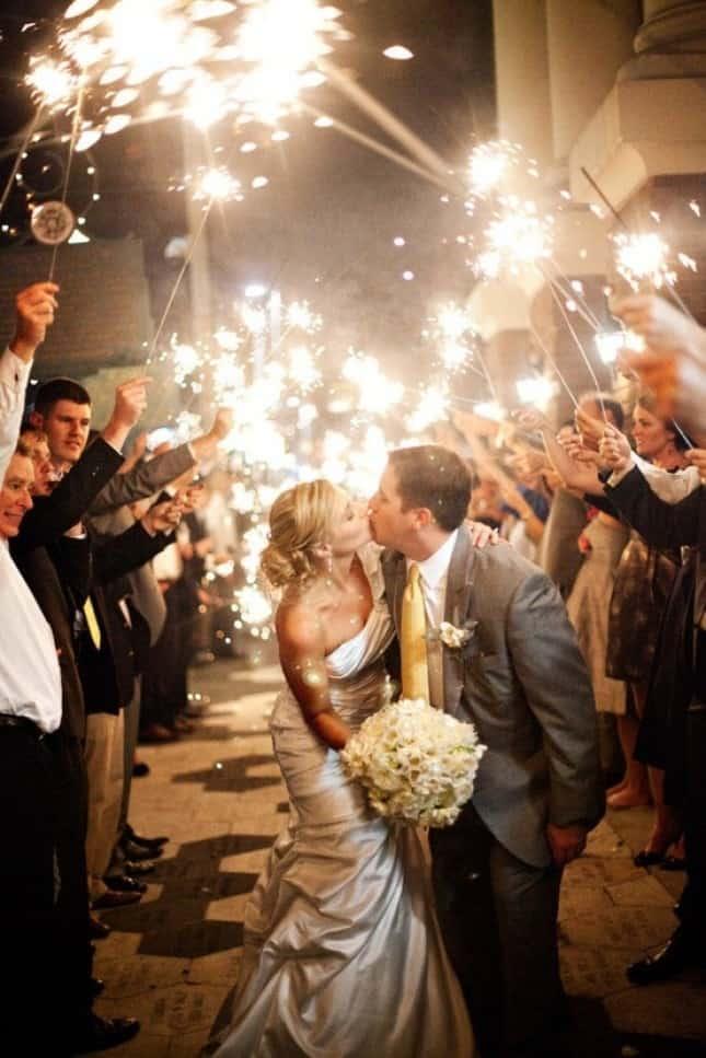 mariage etincelles ceremonie