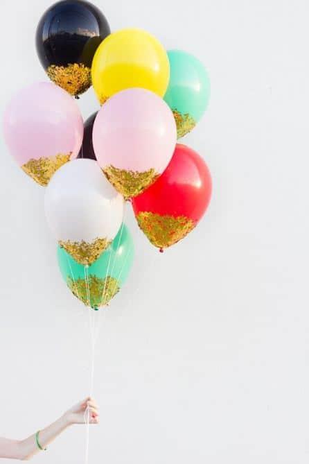paillettes ballons 2