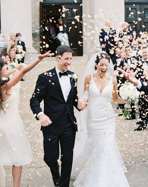 petales mariage ceremonie