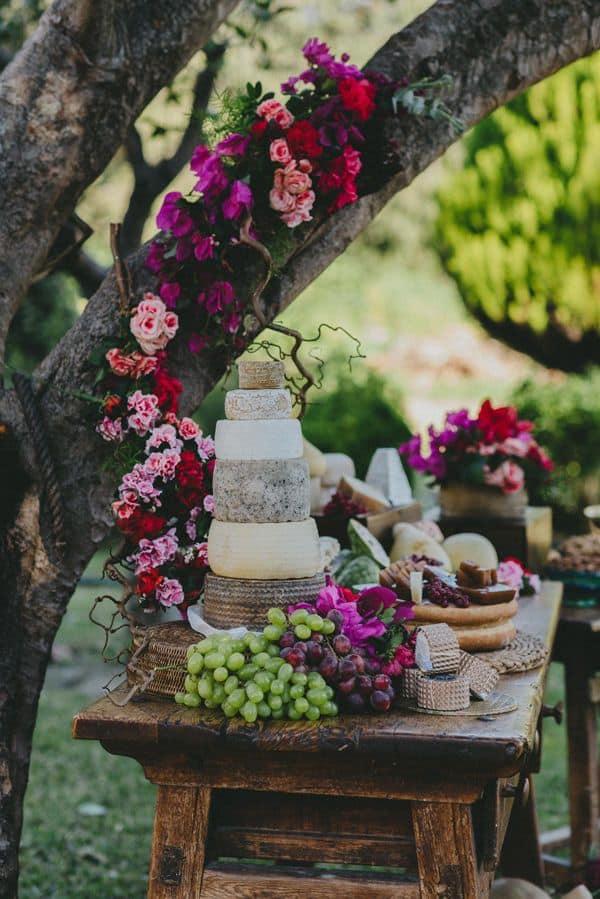 Idées de buffet pour votre mariage : le bar à fromages