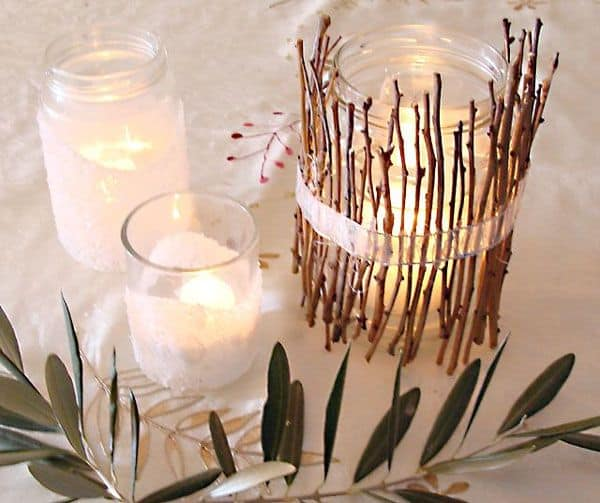 Mariage d automne quelques id es d co save the deco for Centre de table automne