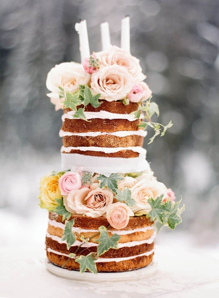 Le Naked Cake Le Nouveau Gateau A La Mode Save The Deco